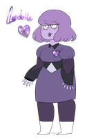 soft purple robo gem by Birdy-Is-Sleepy