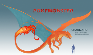Pokemonster - Charizard by MissMagnificent