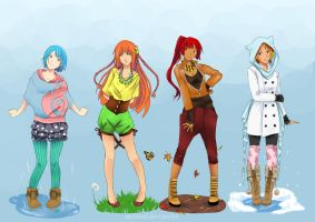 H.O.W. Fashion contest by AkiDead