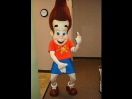 jimmy neutron showing off his moves by Thegenghiskhan888