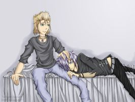 KH: Zemyx--A Comforting Hand by Twilight-Deviant