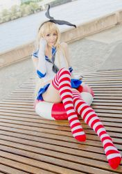 Kantai Collection -  Shimakaze Whirlwind Girl by xxpuffy