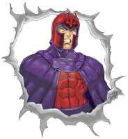 Magneto COLORED 2011 by LucasAckerman