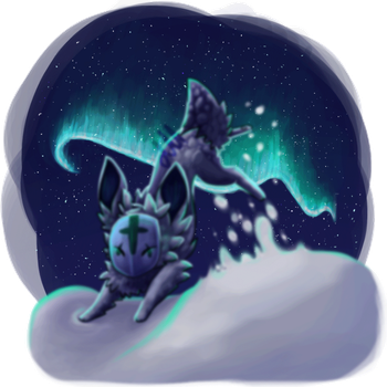 Dashing Through Lights and Snow [Contest Entry] by koiiqueen