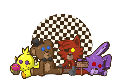 Five nights at build a bears by IsSavDead