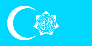 Alt Flag - The Republic of Uyghuristan by AlienSquid