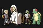 ITLD Races: Reptilians by Respeanut