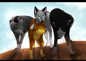 :CE: Bloody MoonWolves by XBlackIce