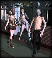 Undead Commuters by Luddox