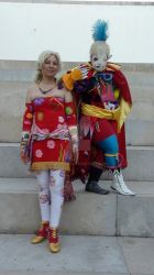 Terra  and Kefka from Dissidia Duodecim 012 by Candy2012