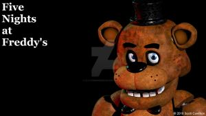 Five Nights at Freddy's Desktop Background by LillyTheRenderer
