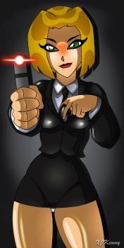 Agent Elle by XJKenny