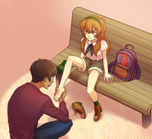 [Lance*Pidge] Date by rainbox17