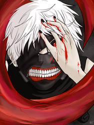 Kaneki Fanart  by Cerlinna