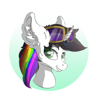 Lightning Bliss - Headshot by TyandagaArt