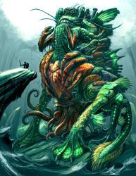 RIFT Contest Water Colossus by Onikaizer