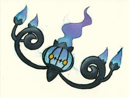 #609 Chandelure by little-ampharos