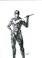 Nightwing by Digraven