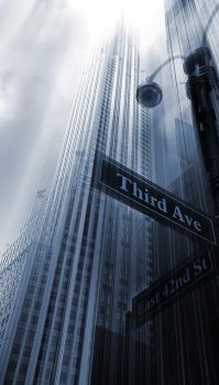 Third Ave and 42nd street - New York by Marcusion
