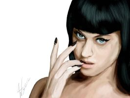 Katy Perry Digital Paintng 3-12 by wes55463