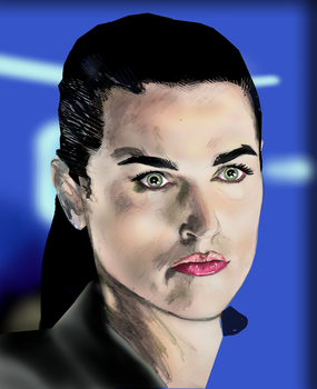 Angry Lena Luthor by XnTriC