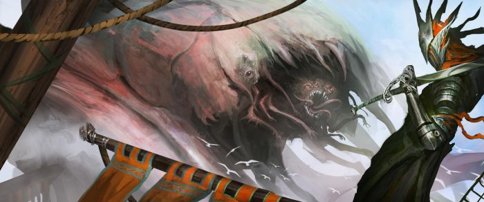Big Flesh Monster Thing by theDURRRRIAN