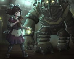 League of Legends - Little Annie and Big Teddy by Isural