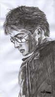 Daniel Radcliffe as Harry Potter by mcsaza