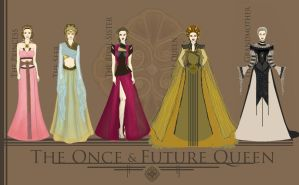 The Once and Future Queen by DistantDream