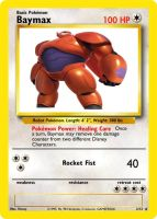 Baymax Pokemon Card by KnightoftheCrusade