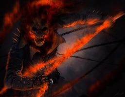 Ghost rider by LouizBrito