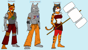 WnB- The DevilFang Gang by Emikodo