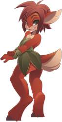 Elora-the-faun by phation