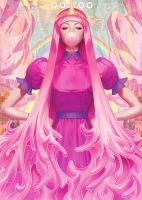 Princess Bubblegum by Artgerm