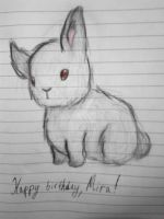 [ Happy (late) birthday,Mira! ] by IIGingerPancakeII