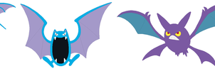 Zubat, Golbat and Crobat Base