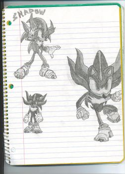 Shadow the Hedgehog by dagothagahnim