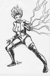 Livewire drawn as part of daily sketch challenge by mrinal-rai