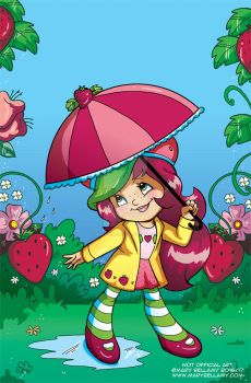 Strawberry Shortcake Rain by MaryBellamy