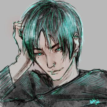 Punk Eren again by lllannah
