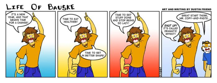 Life of Bauske: Comic 9 by Bauske