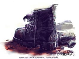 Boots challenge by suicidollxp