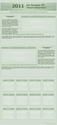 2011 Year Review_Free Template by Tsitra360