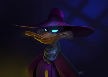 Darkwing Duck by fubango