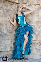 Turquoise Gown Fall 2011 by DaisyViktoria