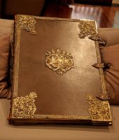 Huge old book , with clasps by barefootliam-stock
