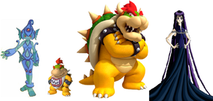 Bowser and his Family by iamnater1225