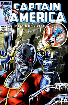 COVER RECREATIONS - Captain America 286 by BrianGraham