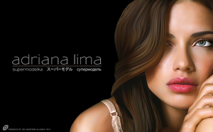 Adriana Lima Vector by AngstromAlliance
