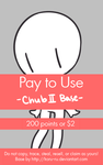 Pay To Use Base {Chub II} 200 points or $2.00 by Koru-ru
